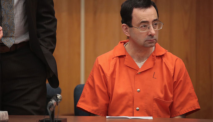 Larry Nassar was the US team doctor at the London 2012 Olympic Games ©Getty Images